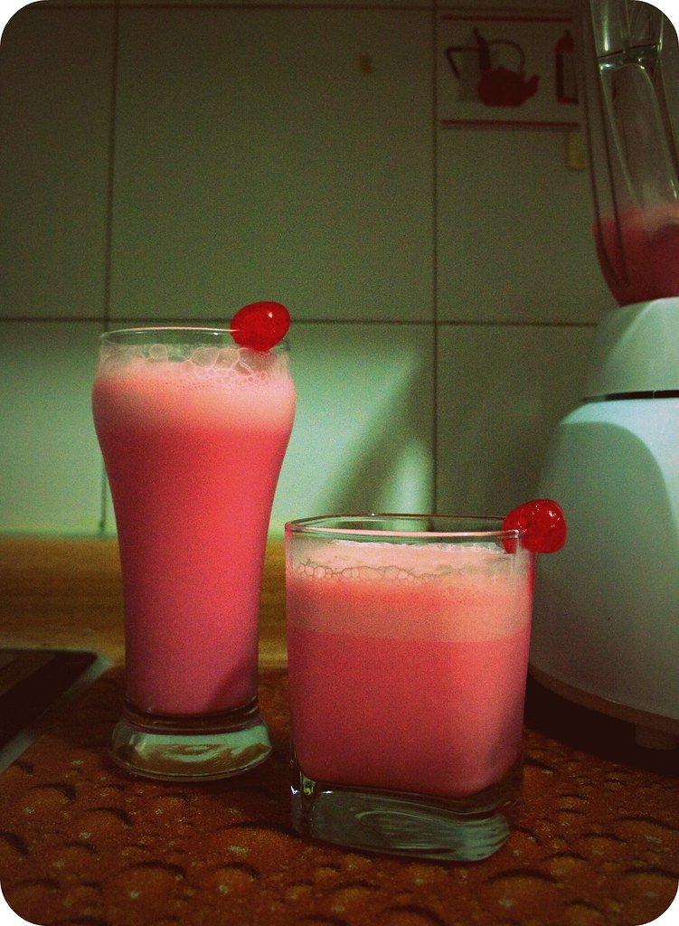 smoothie de cereza
