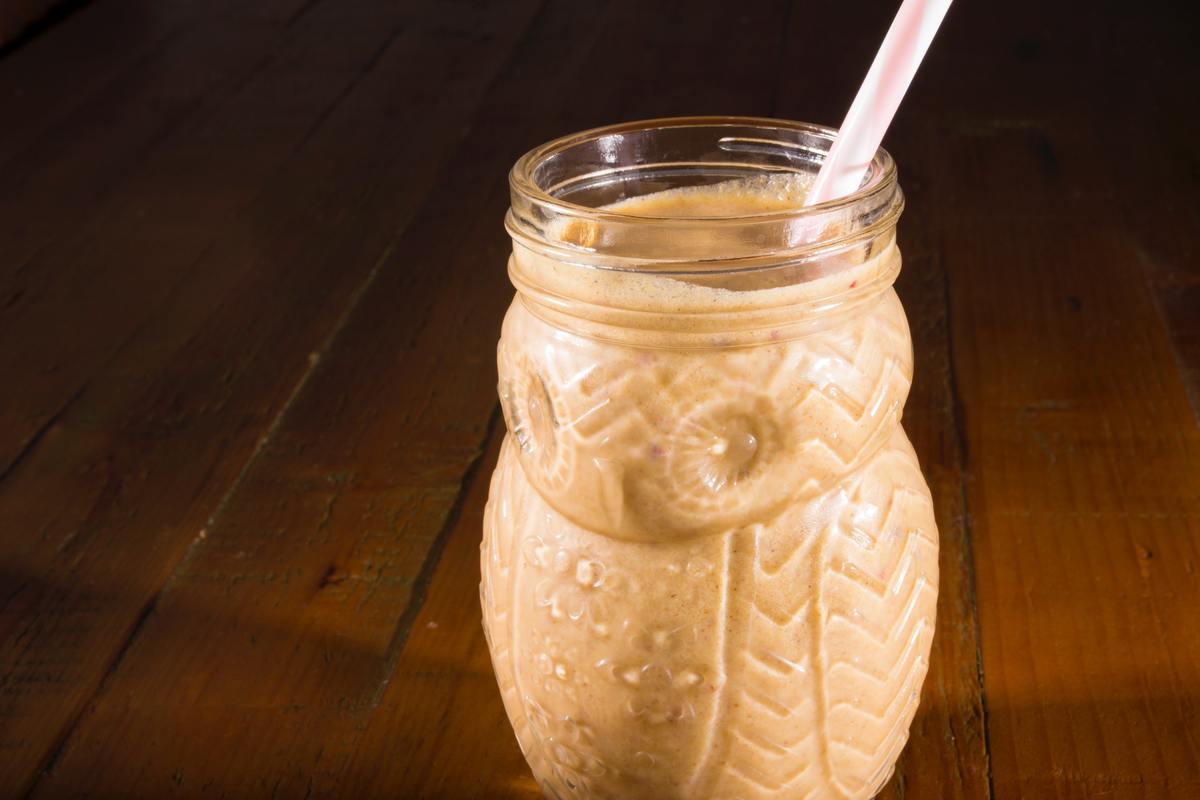 smoothie de almendra