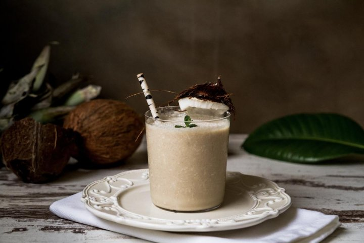 smoothie de coco