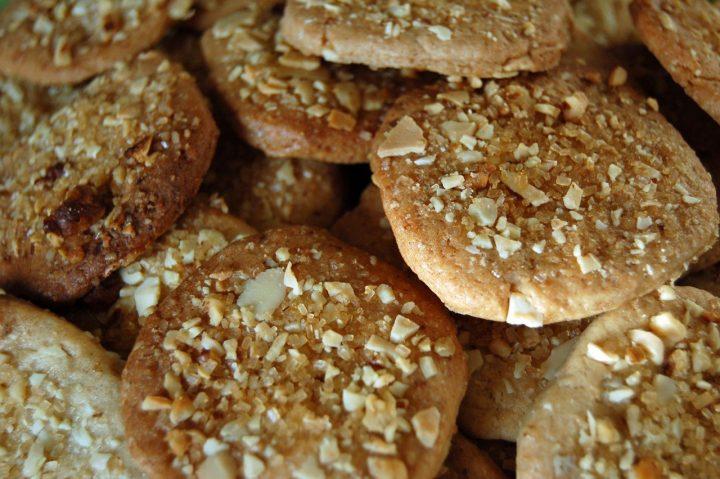 galletas de avena con nueces