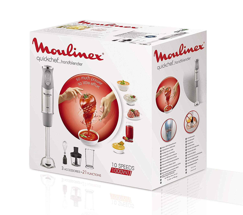 Moulinex QuickChef DD655D10 Batidora de Mano