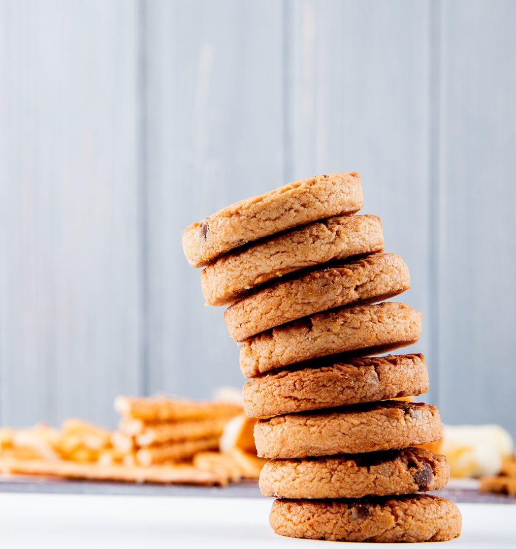 galletas de avena y frutos rojos