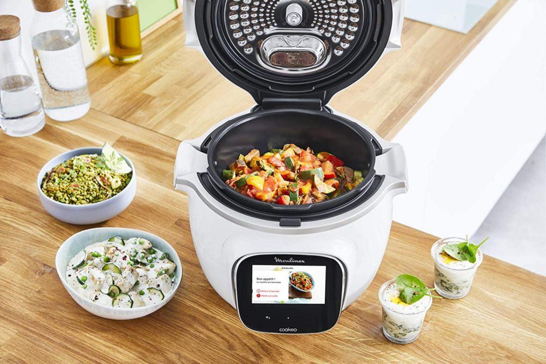robot de cocina inteligente moulinex cookeo