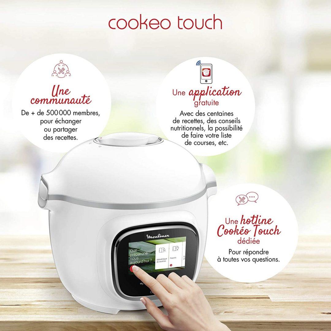robot de cocina moulinex cookeo 2020