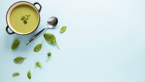 sopa de brocoli