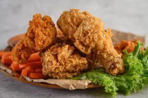 pollo frito en air freyer