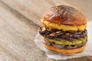 hamburguesa de garbanzos